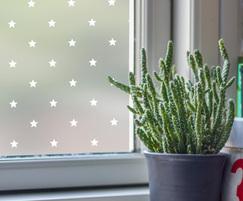 Stars pattern window film
