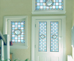 Grace - Victorian style stained glass window film