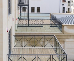 Apartment balconies with Gripsure non slip decking