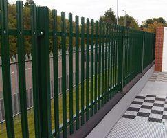 Urban Palisade security fencing | Urban Fencing | ESI
