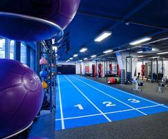 TVS tiles control vibrations at Primal Gym