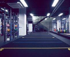 Vibration control - ground floor gym