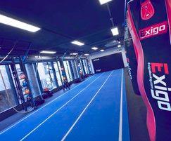 Primal Gym sprint lanes