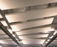 TVS ABSorb Cloud system acoustic absorber ceiling panel
