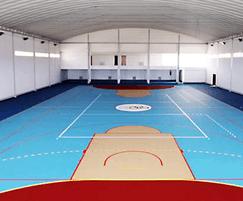 SPORTEC® Standard, Trend and Premium sports flooring