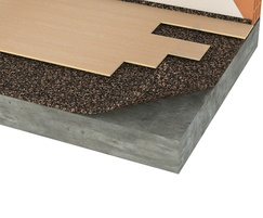 Acousticork T82 impact noise reduction underlay