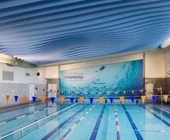 TVS ABSorb Baffles - swimming pool
