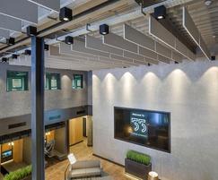 TVS ABSorb Baffles - atrium