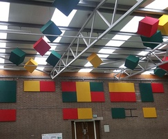 TVS Absorb panels and cubes, Mencap, Sheffield