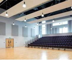 TVS ABSorb Panel in Assembly hall