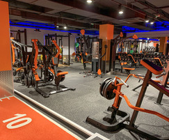 Acoustic flooring for gym