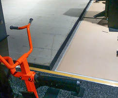RESi Dry floating floor system installation