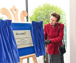 Airedale International Air Conditioning: HRH The Princess Royal opens new Airedale facility