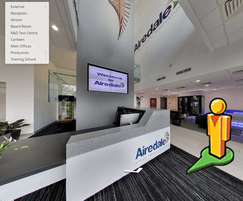 Airedale International Air Conditioning: Airedale rolls out 360° virtual facility tour
