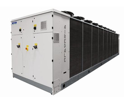 Combine with free cooling chiller for added efficiency