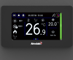 Airedale International Air Conditioning: New touchscreen controller, Vu™ for Airedale SmartCool™