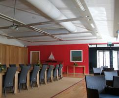 Conference Room Prihoda Fabric Ducts - 1