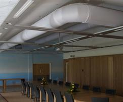 Conference Room Prihoda Fabric Ducts - 2