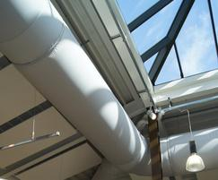 Prihoda Heating Fabric Ducts at Twycross Zoo