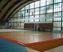 Prihoda sports hall fabric duct - general use