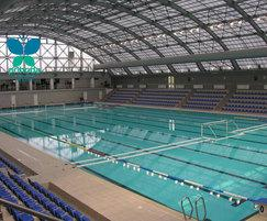 Large Swimming Pool - Prihoda Fabric Duct Heating