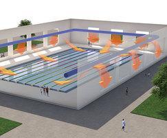 Prihoda Fabric Ducting Swimming Pool air Distribution