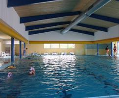 Small Leisure Pool Prihoda Fabric Duct