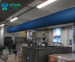 Production area - Prihoda fabric duct