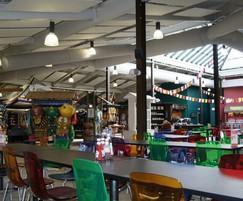 Prihoda fabric ducting at Twycross Zoo - Himalaya shop