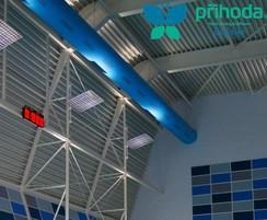 Swiming pool fabric ducting from Prihoda