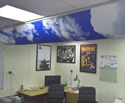 Prihoda Art, custom printing for fabric ducting systems