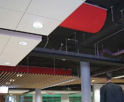 Fabric ducting for library