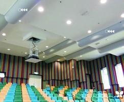 Prihoda fabric ducting for theatre ventilation