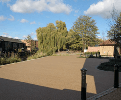 Free draining paving solution for Dolphin Yard