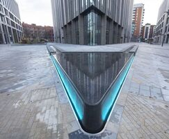 Water table for nine-storey office complex, Leeds
