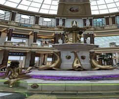 4-tier water feature for shopping centre