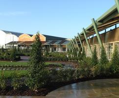 Planting scheme installed at new garden centre