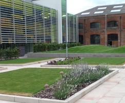 Landscaping to prestigious new college in Derby
