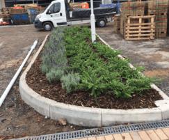 Elliot's Field Retail Park soft landscaping