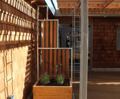 Bespoke Cedar fencing