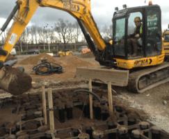 Deeproot Silva Cell 2 under construction