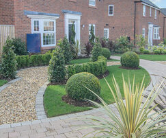 Landscaping at Stanneylands for David Wilson Homes