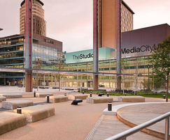 Landscape created for Media City, Salford