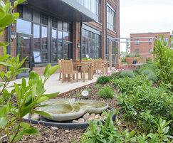 The Chocolate Quarter roof garden, St Monica Trust