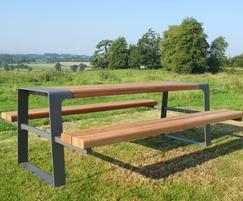 Murton picnic table for outdoor dining