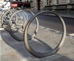 Cast bronze cycle hoops