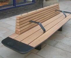 New seating - Winchester High Street