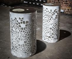 OSSO litter bins - 55 and 95 litre capacities