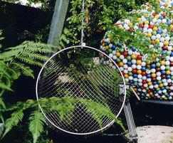 Stainless steel Globe chair