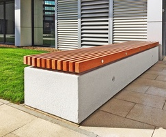 Cool Soca Concrete And Timber Bench Factory Furniture Esi Beatyapartments Chair Design Images Beatyapartmentscom